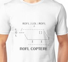 Rofl Copter Unisex T-Shirt