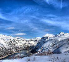 Winter in Norway by Bjørn Hovland Børve