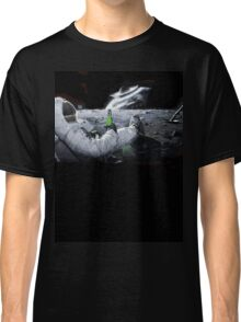 Earth From Moon Funny Sci-Fi Doom Classic T-Shirt