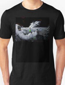 Earth From Moon Funny Sci-Fi Doom T-Shirt