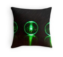 The Three Worlds - Coloured Pencil  Throw Pillow