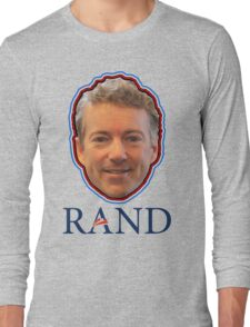 Rand Paul President Senator 2016 Constitution Long Sleeve T-Shirt