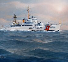 U. S. Coast Guard Cutter Castle Rock by William H. RaVell III