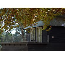 Autumn Boat House... Photographic Print