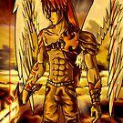 Michael - The Angel Battle Saga by japu