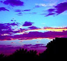Egyptian Sunset by John Brotheridge