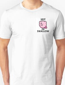 Kirby - Spit Or Swallow Unisex T-Shirt