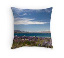 Lake Tekapo Throw Pillow