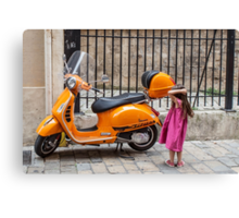 Maybe not in this colour Canvas Print