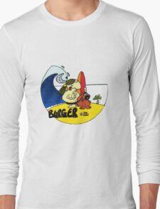 BURGER LOGO Long Sleeve T-Shirt