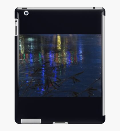 Christmas Lights on Ice iPad Case/Skin