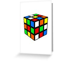 RUBIX Greeting Card