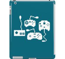 Pixel History - Sega Controllers (White) iPad Case/Skin