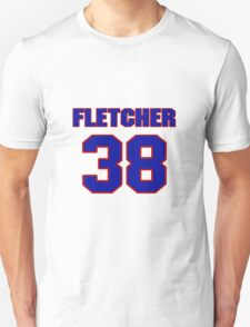 National football player Fletcher Louallen jersey 38 T-Shirt