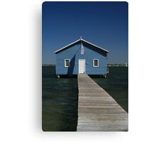 Crawley Edge Boatshed, Perth Canvas Print