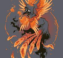 Avian Arsonist by dooomcat
