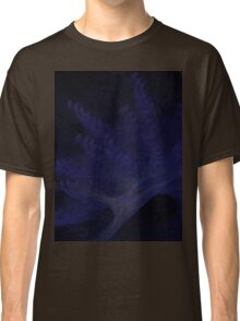 Douglas Fir Covered by a Snowy Blue Wind Classic T-Shirt