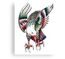 Pen Eagle Canvas Print
