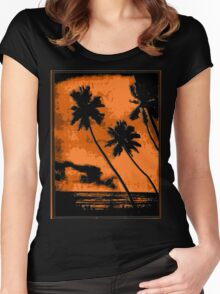 PERFECT Tropical Vacation! Women's Fitted Scoop T-Shirt