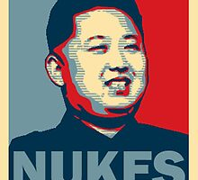 Kim Jong-un NUKES by RBSTORESSX