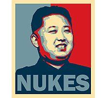 Kim Jong-un NUKES Photographic Print