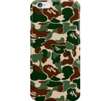 Bape Green Camo ( A Bathing Ape ) iPhone Case/Skin