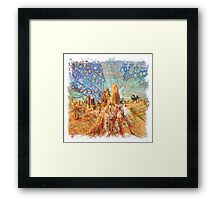 The Atlas Of Dreams - Color Plate 92 Framed Print