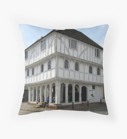 Thaxted Guild Hall Throw Pillow