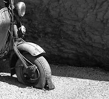Old Vespa by Cyril Marchand