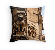 Mausoleum of Bes Throw Pillow