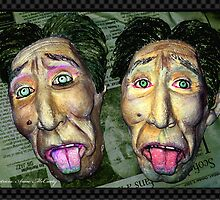 """I feel sick"" The Twin Face by Patricia Anne McCarty-Tamayo"