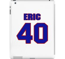National football player Eric Wilkerson jersey 40 iPad Case/Skin