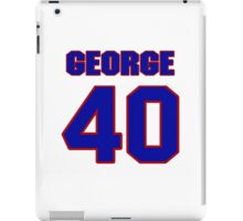 National football player George Franklin jersey 40 iPad Case/Skin