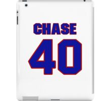 National football player Chase Reynolds jersey 40 iPad Case/Skin