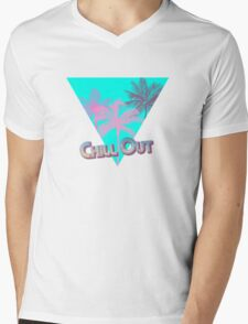 Chill Out Dudes and Dudettes! Mens V-Neck T-Shirt