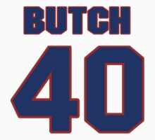 National football player Butch Woolfolk jersey 40 by imsport