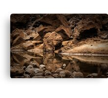Iguazu - On the Rocks Canvas Print