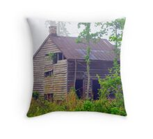 Tenant House Throw Pillow