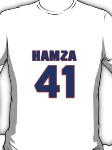 National football player Hamza Abdullah jersey 41 T-Shirt