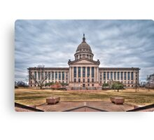 Oklahoma State Capitol Building Canvas Print