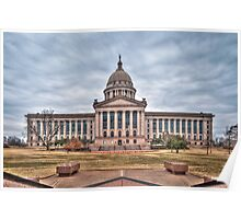 Oklahoma State Capitol Building Poster