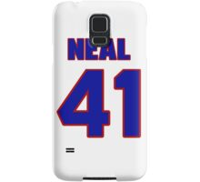 National football player Neal Guggemos jersey 41 Samsung Galaxy Case/Skin