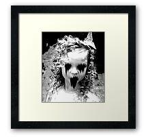 Haunted Girl Framed Print