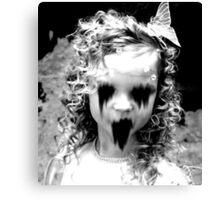 Haunted Girl Canvas Print