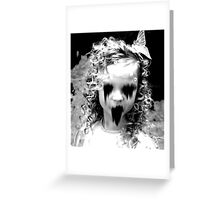Haunted Girl Greeting Card