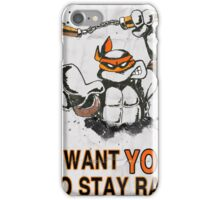 Stay Rad. iPhone Case/Skin