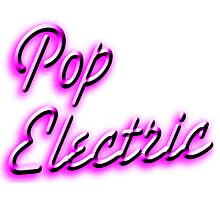 Pop Electric Photographic Print