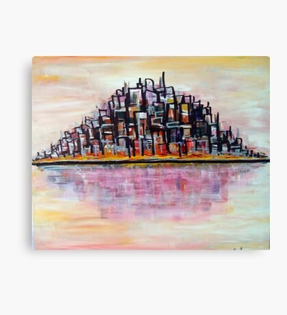 Urban Island Canvas Print