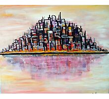 Urban Island Photographic Print