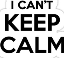 I cant keep calm Im a CHIRICHELLA Sticker